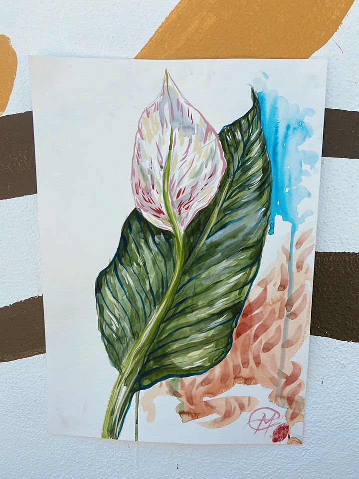 Watercolour Art Classes image