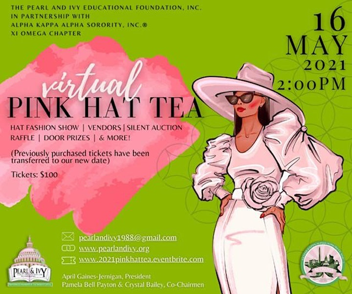 11th Annual Pink Hat Tea Scholarship Fundraiser image