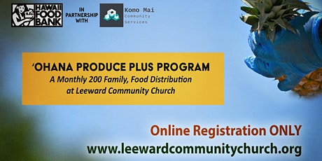 LCC 'Ohana Produce Plus Program tickets