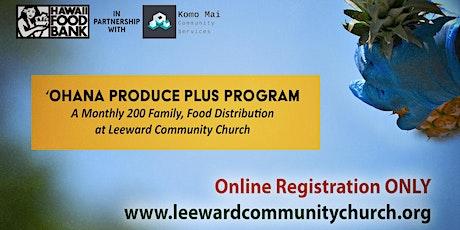 LCC 'Ohana Produce Plus Program tickets