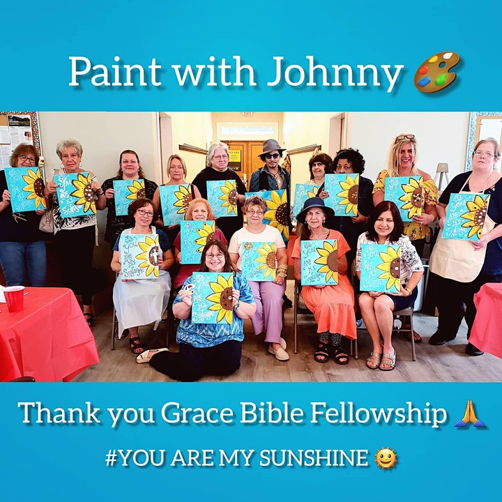 Paint for a Paws with Johnny image