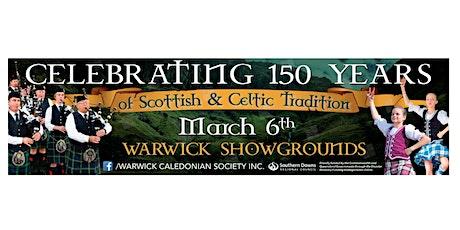 Scottish Gala Dinner - Warwick Caledonian Society 150th Celebrations tickets