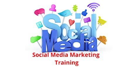 16 Hours Only Social Media Marketing training course Burlington tickets