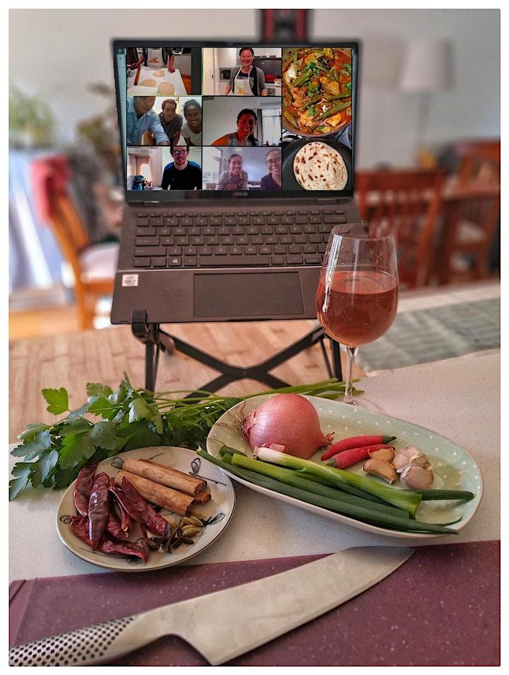 Sri Lankan Vegan Feast Online Cooking Class image