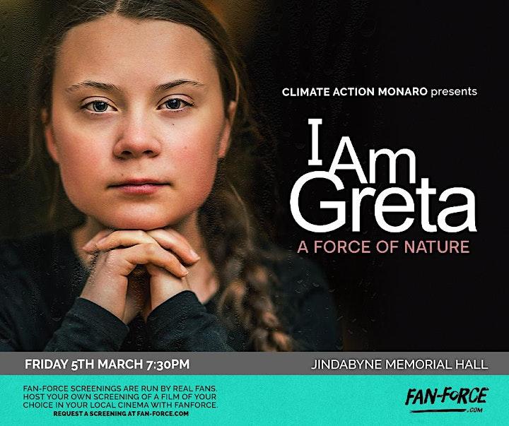 """""""I am Greta"""" Film Night image"""