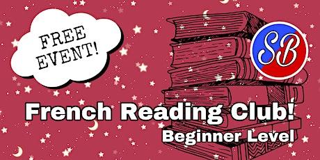 French Reading Club (Beginner) tickets