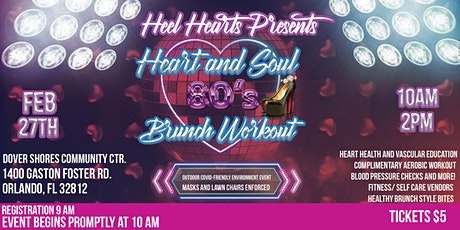 Heart and Soul 80's Brunch Workout tickets