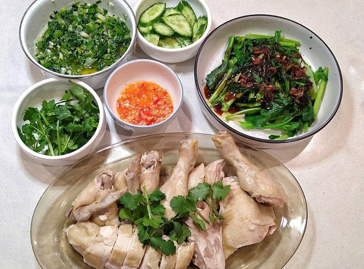 Hainanese Chicken Rice Online Cooking Class image