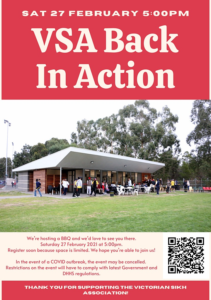 VSA Welcome Back BBQ image