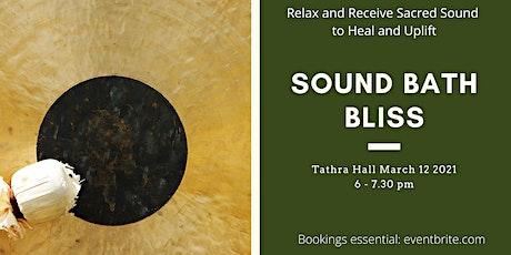 Sound Bath Bliss tickets