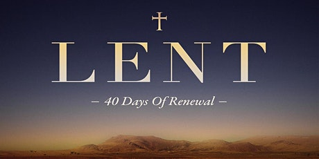 LENT: Reconciliation Liturgy tickets