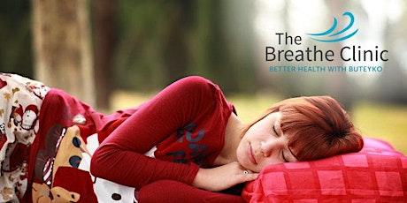 Online Breathing and Sleep Workshop tickets