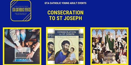GTA Catholic Learns: ONLINE 33 Day Consecration to St Joseph tickets
