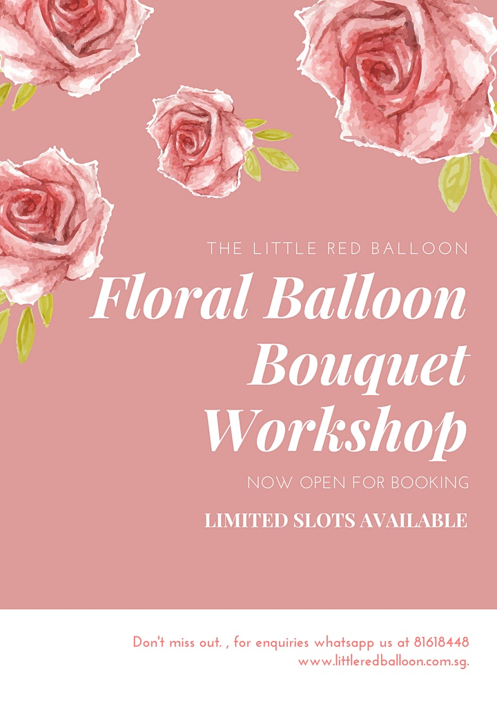 Floral Balloon Bouquet Workshop image