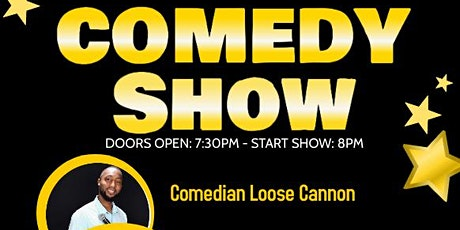 Cook Out Comedy Show Starring TBA tickets