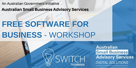 FREE SOFTWARE FOR BUSINESS - WORKSHOP tickets