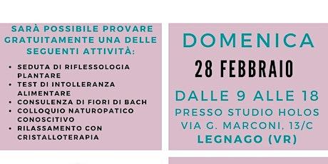 Open DAY di NATUROPATIA a Legnago VR il 28 Febbraio 2021 biglietti