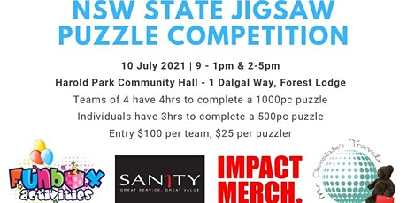 NSW State Jigsaw Puzzle Competition entradas