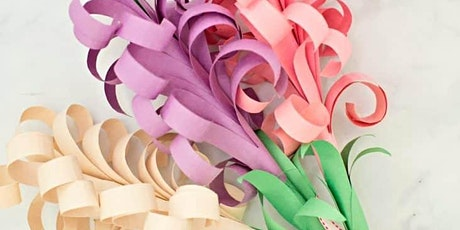 English for Kids - Paper Craft Flowers (All Ages, Families) with NATALIE tickets