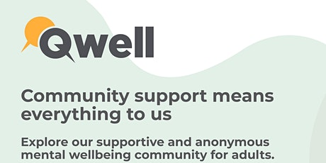 Qwell anonymous mental health support for adults in Bradford tickets