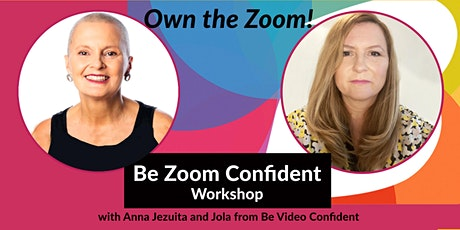 Be Zoom Confident workshop tickets