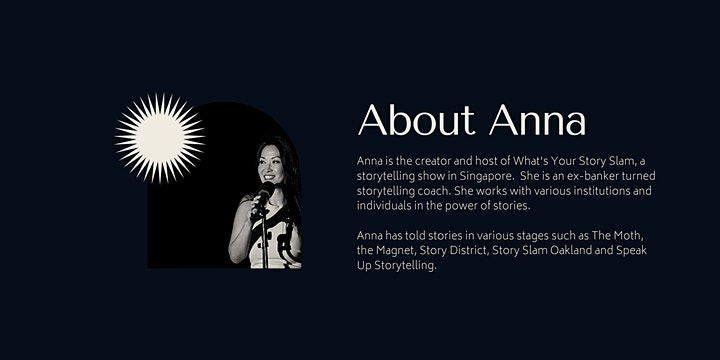 Seed to Stage - A Six Week Storytelling Course (In Person) image