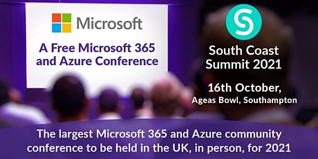 South Coast Summit 2021 - A Microsoft Cloud Technology Conference tickets