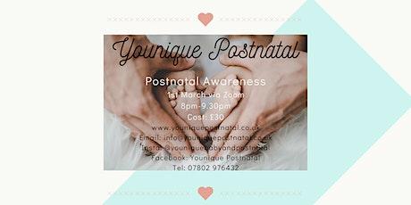 Postnatal Awareness billets
