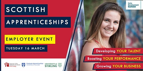 Scottish Apprenticeships Employer Event - Perth & Kinross tickets