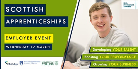 Scottish Apprenticeships Employer Event - Fife tickets