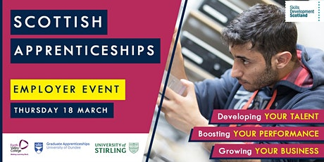 Scottish Apprenticeships Employer Event - Forth Valley tickets