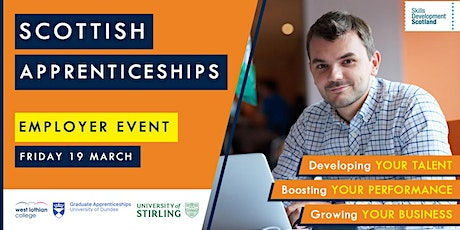 Scottish Apprenticeships Employer Event - West Lothian tickets