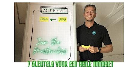"""Online masterclass """"7 sleutels voor een Agile Mindset"""" (NL) tickets"""