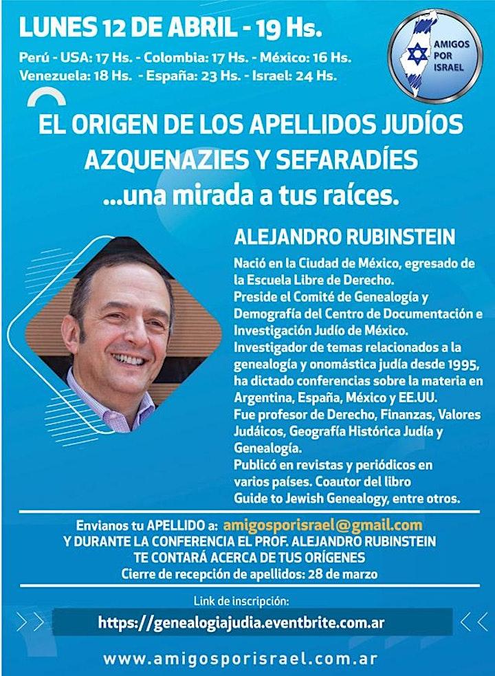Imagen de VIDEOCONFERENCIA: EL ORIGEN DE LOS APELLIDOS JUDÍOS
