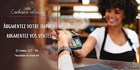 Augmentez votre impact, augmentez vos ventes billets