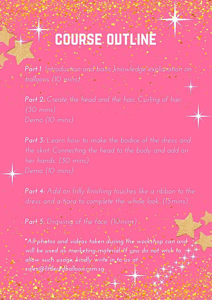 Princess Doll Balloon Sculpture Workshop image