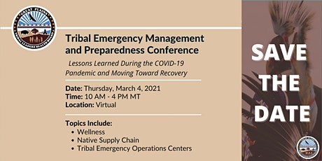 Tribal Emergency Management and Preparedness Conference tickets