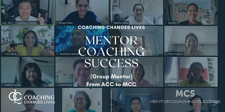 ICF MCC Mentor Coaching - Coaching Changes Lives Mentor Coaching Success image