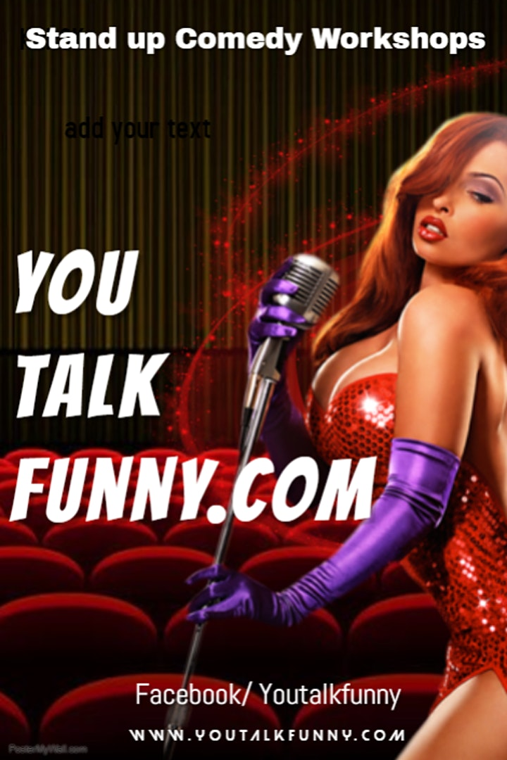 You Talk Funny Stand Up Online Showcase Feat. Terry Markey Headliner image
