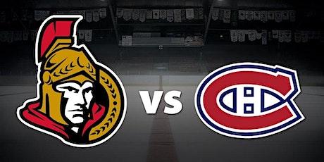 LIVE@!.MaTch Ottawa Senators v Montreal Canadiens LIVE ON NHL 2021 tickets