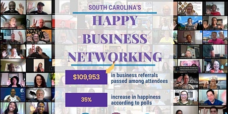 Free Happy Business Networking - South Carolina tickets