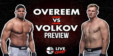 FigHt@!.Overeem v Volkov LIVE ON fReE tickets