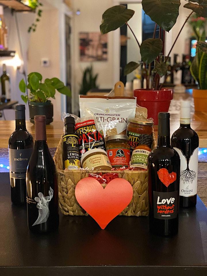 Valentine's Wine Baskets + Bundles at 23rd and Vine image
