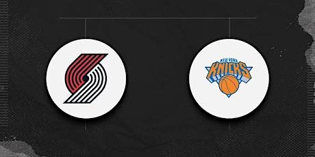 StREAMS@>! (LIVE)- Portland Trail Blazers v New York Knicks ON NBA 2021 tickets