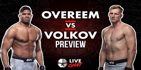 StrEams@!.Overeem v Volkov LIVE ON fReE tickets