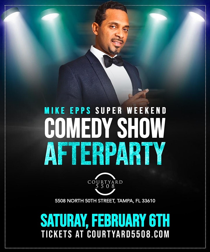 MIKE EPPS SUPER WEEKEND OFFICIAL COMEDY SHOW AFTER-PARTY image