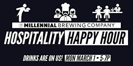 Hospitality Happy Hour - Free Drinks On Us tickets