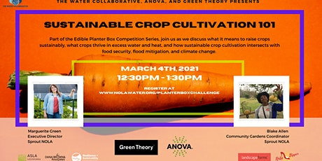 Sustainable Crop Cultivation 101 tickets