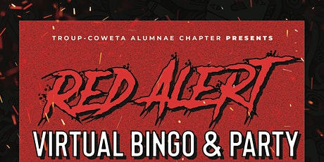 Red Alert Virtual Bingo tickets