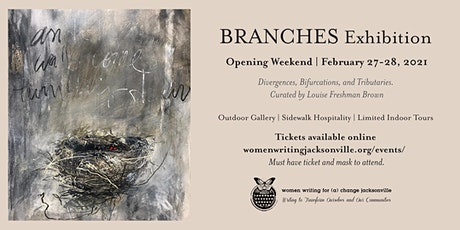 BRANCHES Exhibition: Outdoor Opening and Gallery tickets